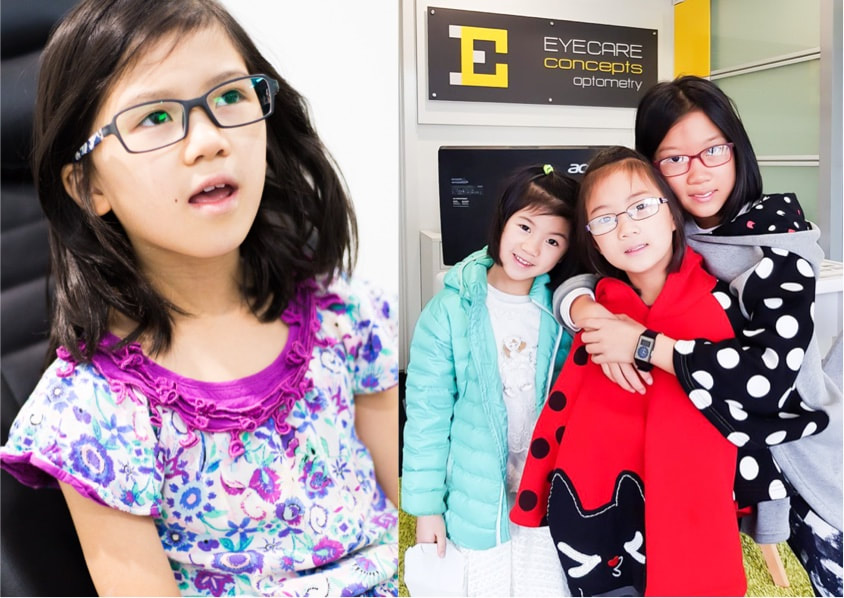 Eyecare Concepts in Kew East is one of Melbourne's leading children's optometrists, providing excellence in paediatric eye care for children of all ages.