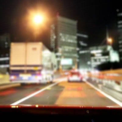 Blurred night vision with astigmatism